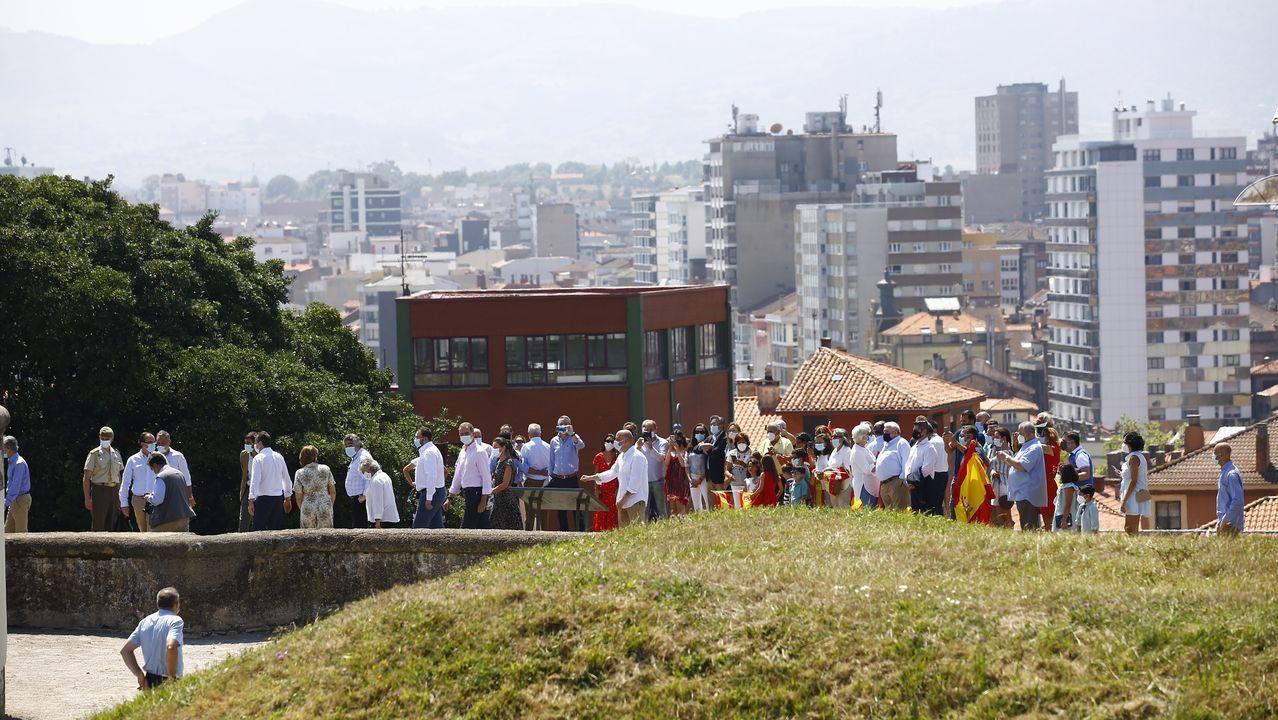 Visita de los reyes al cerro de Santa Catalina