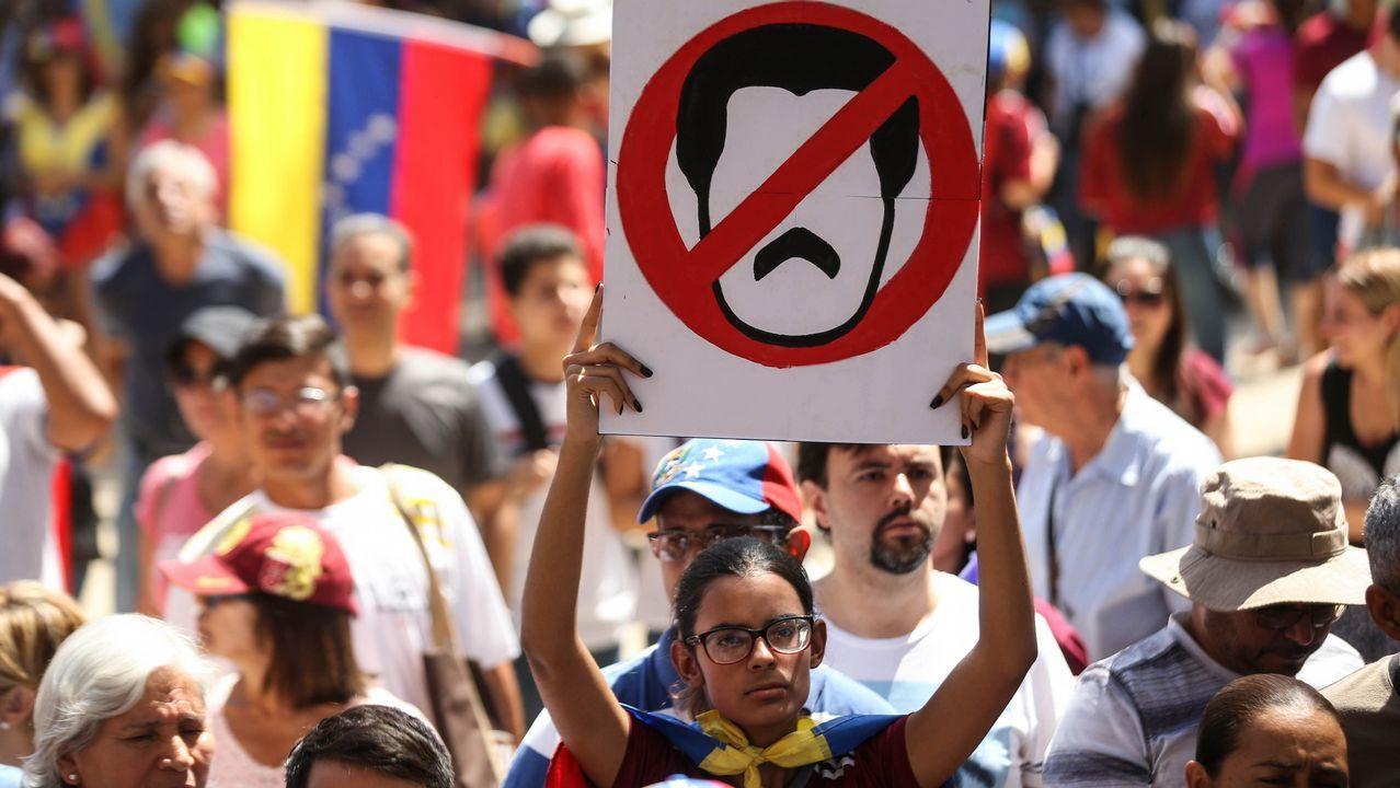 Venezuela se echa a la calle para reclamar elecciones libres.Mapa de las exportaciones internacionales de las empresas asturianas