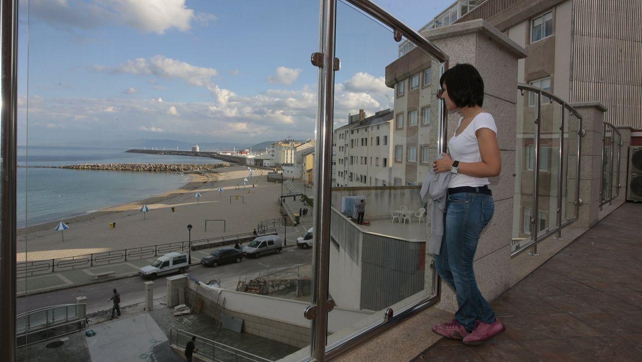 Las imágenes del encuentro de Copa Galicia entre O Parrulo y el Pescados Rubén Burela.La mitad de las habitaciones del hotel Nordés, en imagen de archivo, tienen vistas al mar