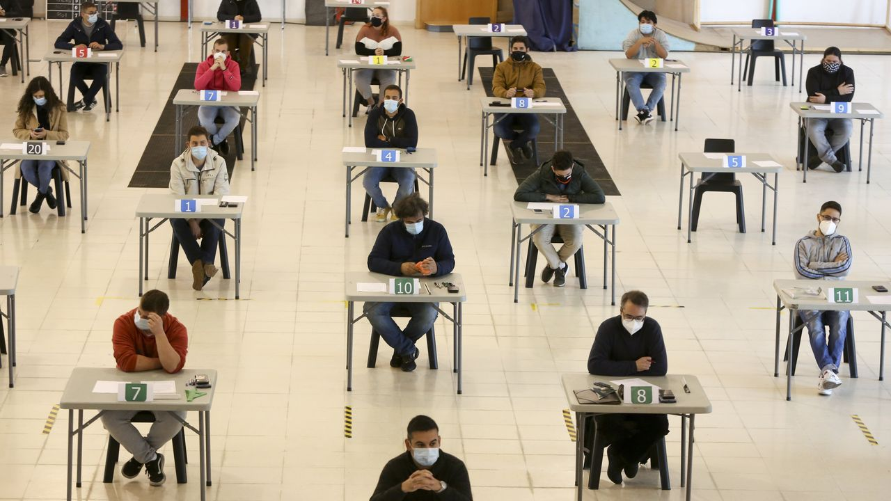 Foto de los exámenes celebrados el pasado octubre en FIMO