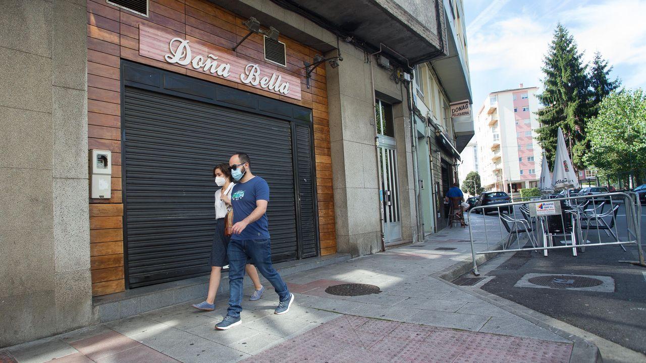Pub de Lugo de Marina Española donde se pudo originar un brote de coronavirus en Lugo