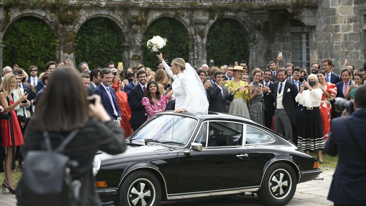 Las fotos de la boda de Lucía Bárcena y Marco Juncadella