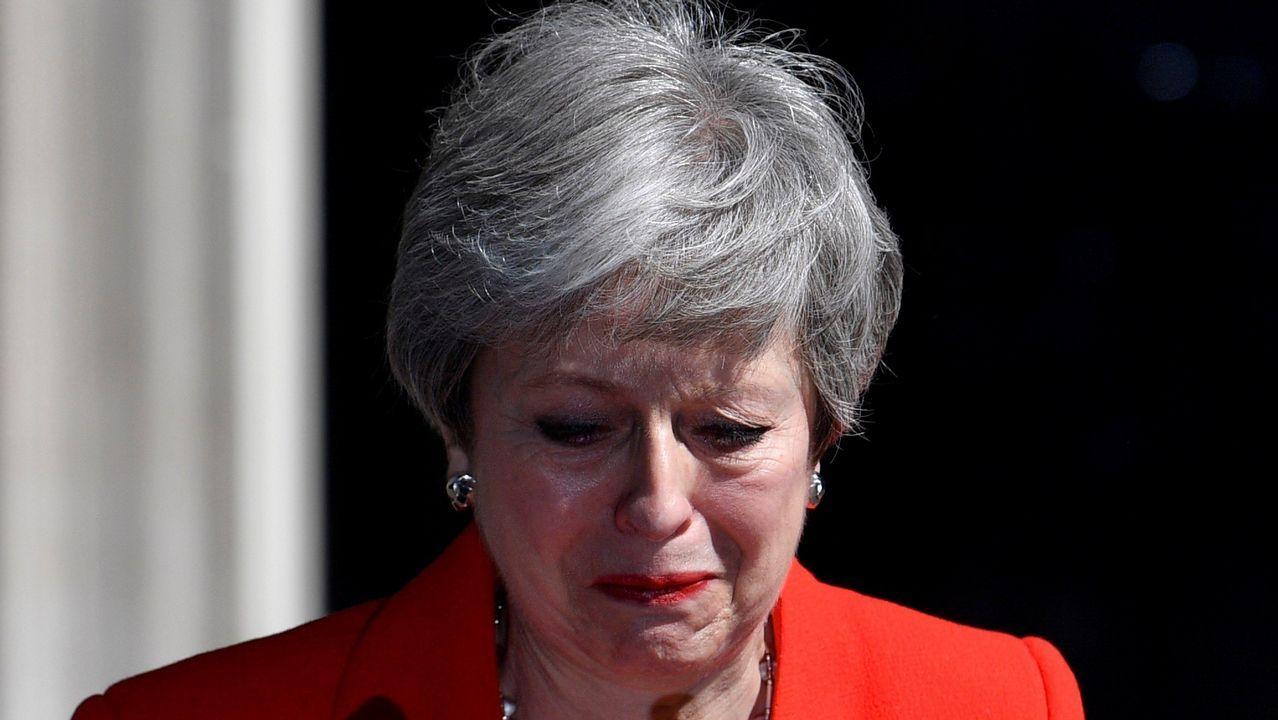 Undiputado «tory» agrede a una activista de Greenpeace.El exalcalde de Londres y exministro de Exteriores, Boris Johnson, lidera con holgura las votaciones