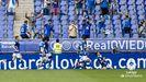 Viti celebra el 1-0 ante el Lugo