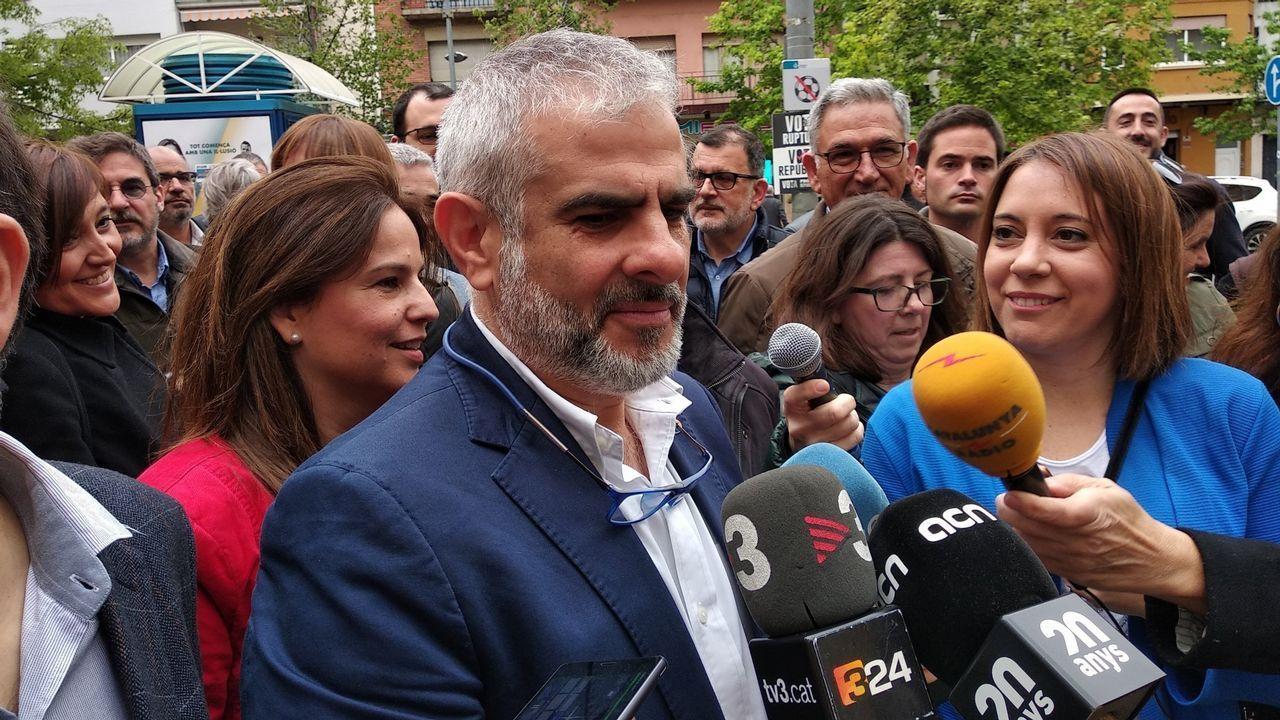 Carlos Carrizosa (Ciudadanos). El hasta ahora portavoz parlamentario podría aspirar a la Generalitat.