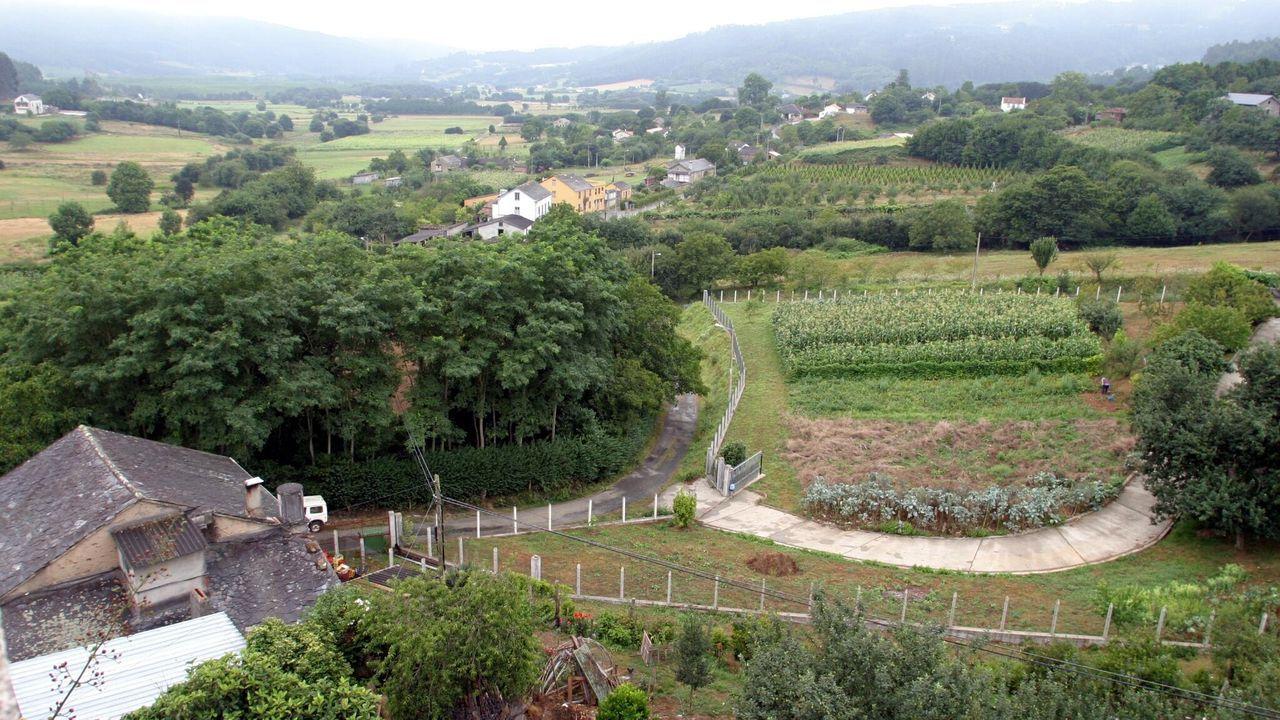 Vista del municipio de Moeche, en una fotografía de archivo