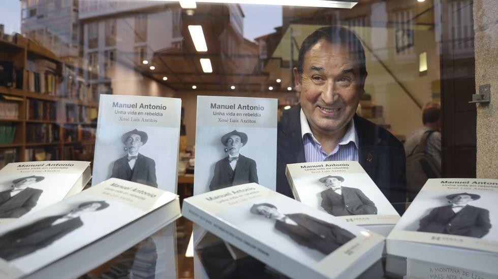 Alberto Ramos, autor de «Eighteen», en una imagen reciente.La escritora argentina Belén López Peiró