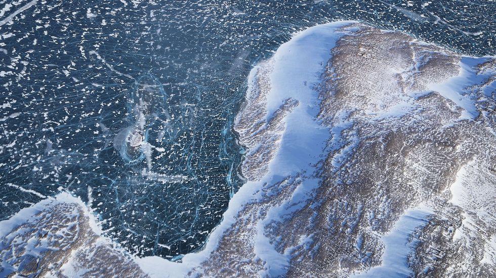 La NASA sobrevuela el Ártico para estudiar la pérdida de hielo