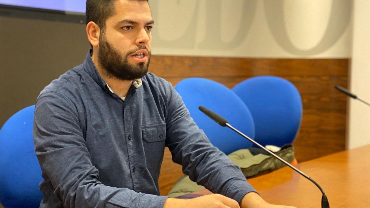 El concejal de Somos Oviedo, Rubén Rosón