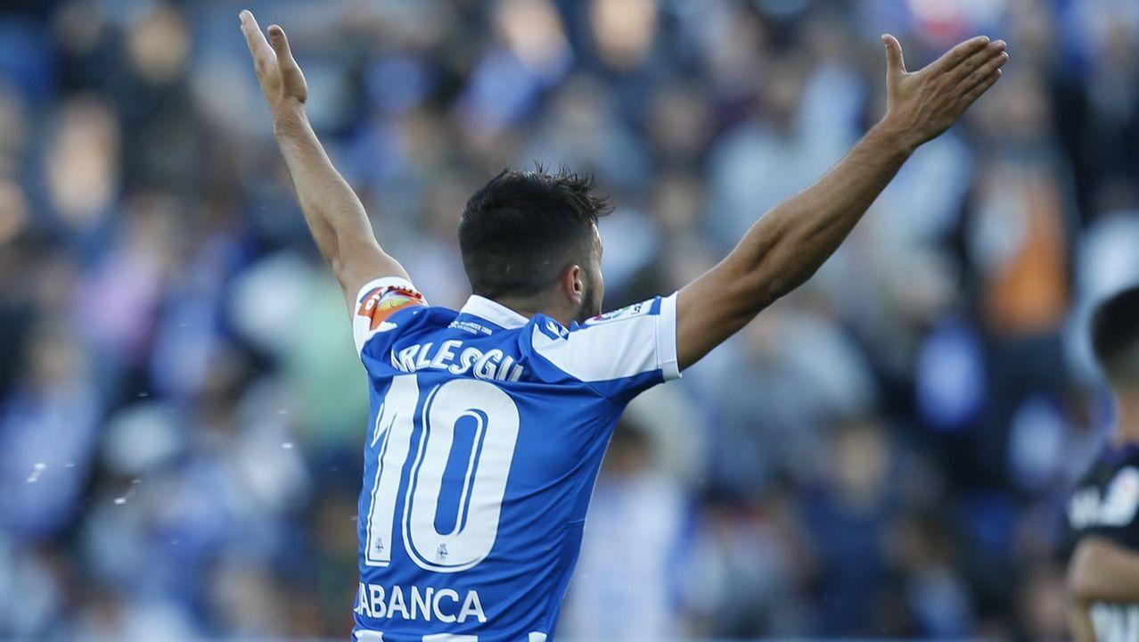 El paso de Natxo por el Deportivo en imágenes.Rubén de la Barrera, Martín Lasarte, Fernando Vázquez y José Luis Oltra
