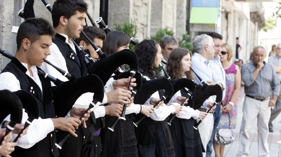 Festividad de San Martiño en Quiroga, en una imagen de archivo