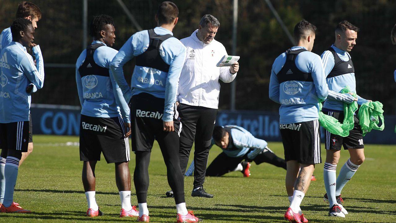 Óscar García: «Es mucho más importante la salud de las personas que el fútbol»