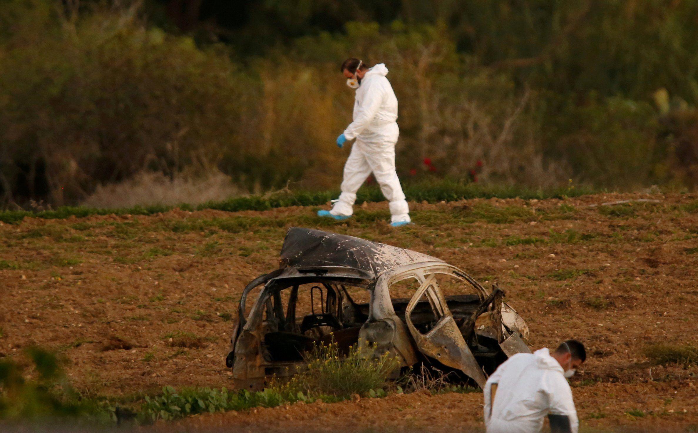 Una bomba colocada en su coche acabó con la vida de Caruana