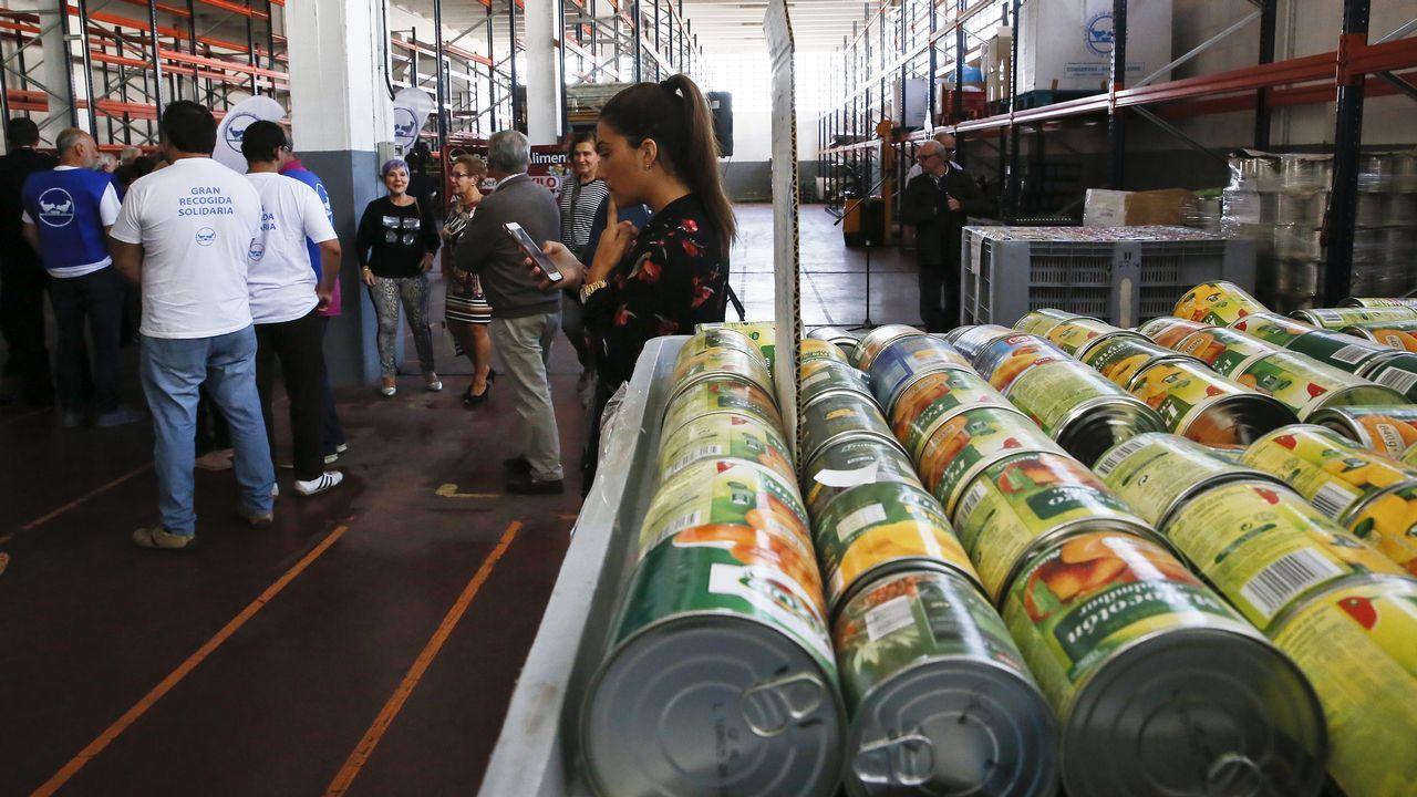 El Banco de Alimentos de Vigo estrena instalaciones