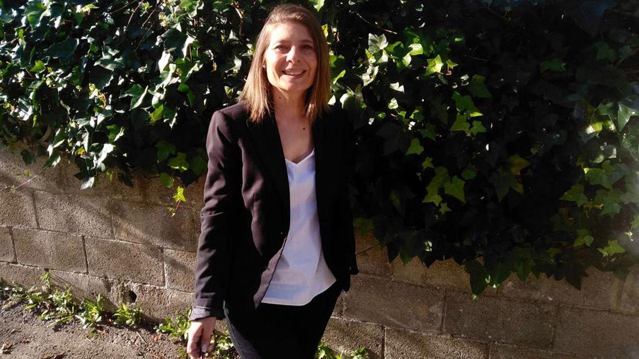 Mar Alonso Llavona, candidata a portavoz de Podemos en Siero