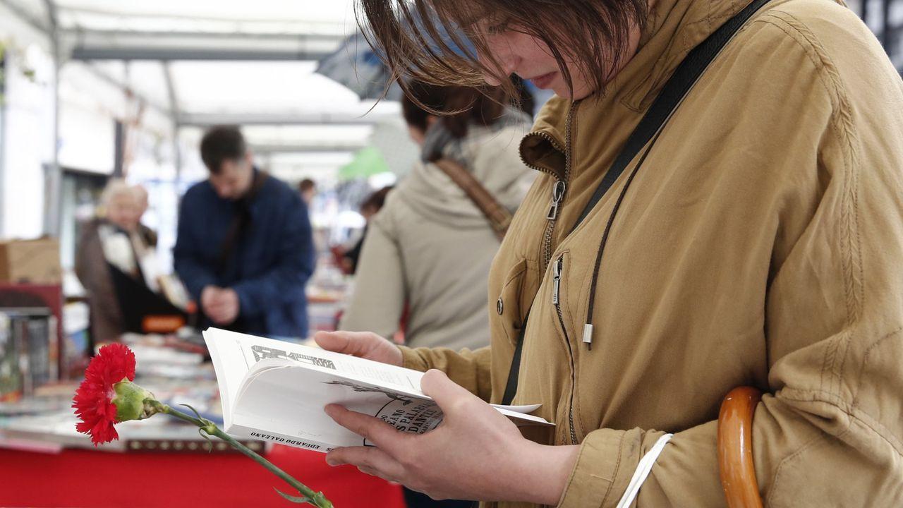 Así celebró Ourense el Día del Libro