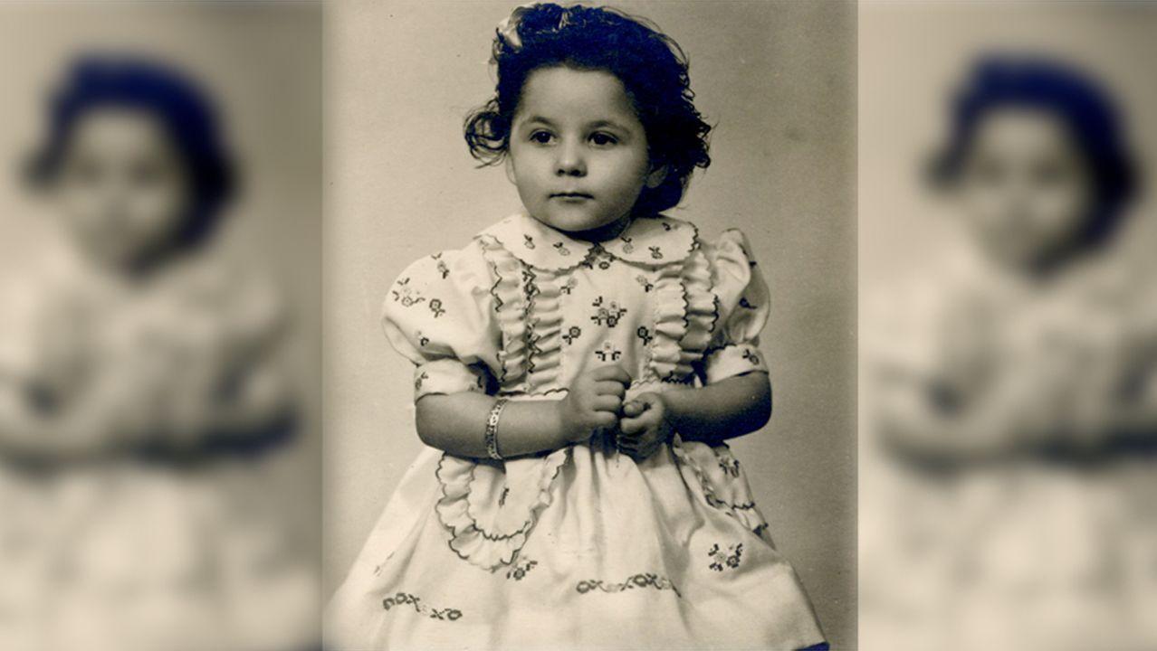 Elvira Landín, en una foto de 1946