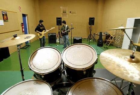 En los actuales locales de San Lázaro no hay espacio ni horario para nuevos grupos musicales.