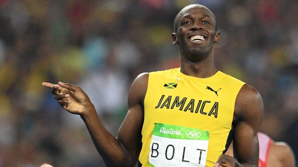 Usain Bolt se despide del atletismo en Jamaica
