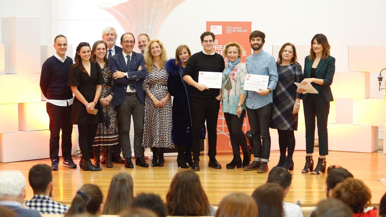 Desfile Despunte de los alumnos de la Escola de Arte e Deseño Mestre Mateo