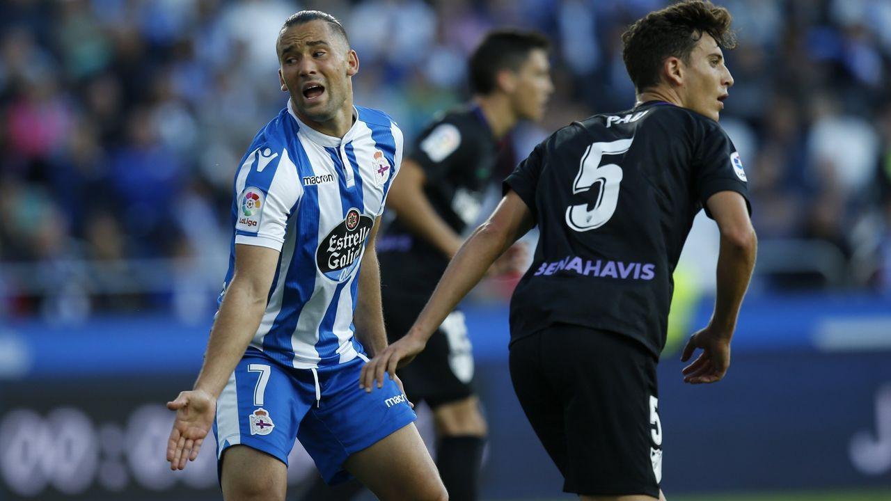 Aficion Real Oviedo Lugo.Quique González ha marcado un gol en las ocho últimas jornadas