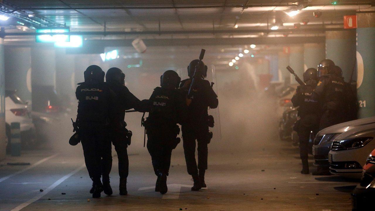 Tsusami Decrocàtic llamó, el pasado lunes, a paralizar el aeropuerto del Prat tras conocerse la sentencia del desafío secesionista