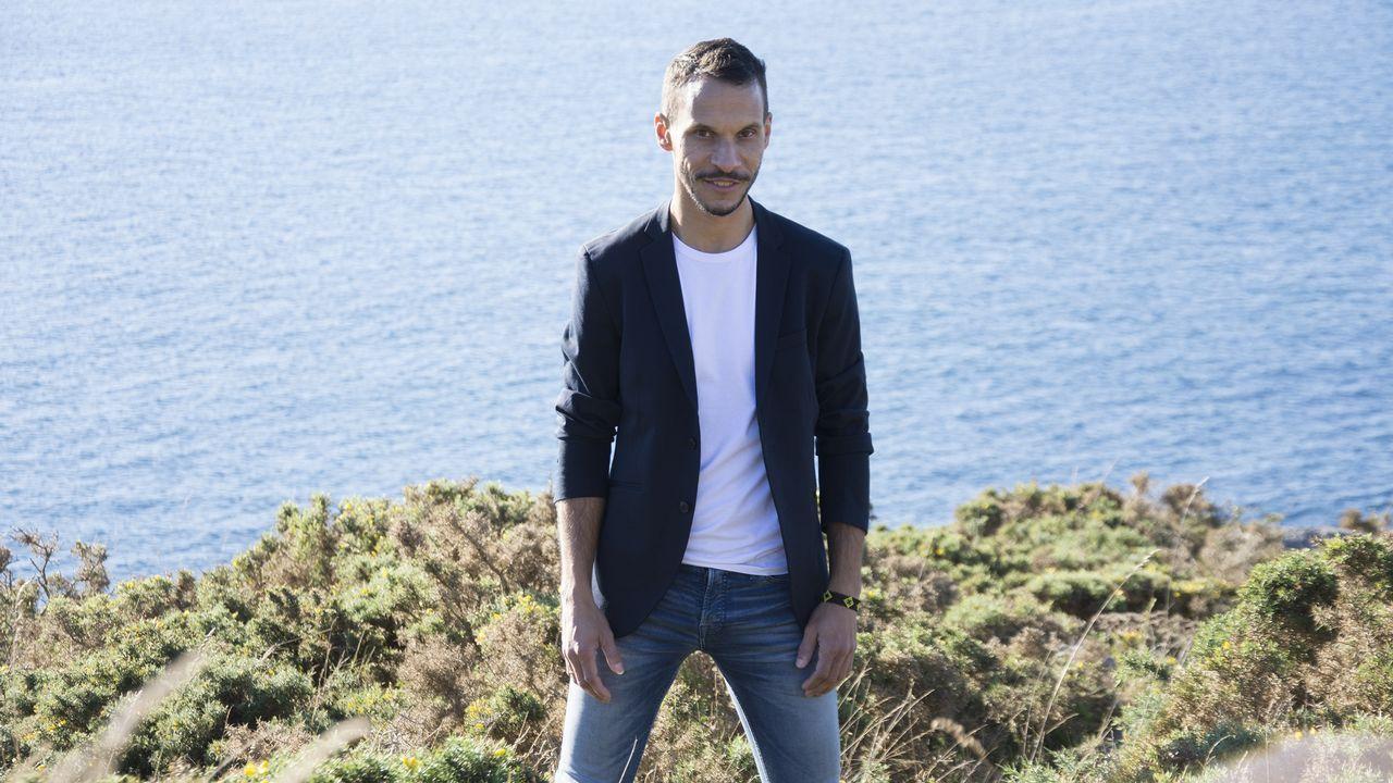 Alejandro Sanz cerrará su gira en Santiago.PABLO ALBORÁN EN UN CONCIERTO EN PORTEVEDRA DEL AÑO 2015