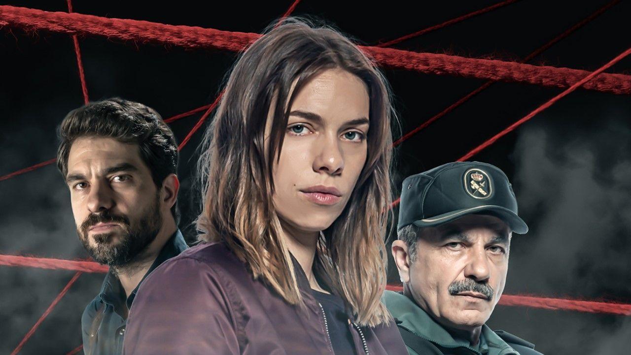 Emma Lustres, Diego Ávalos y Carlos Montero preparan en A Coruña el rodaje de la serie