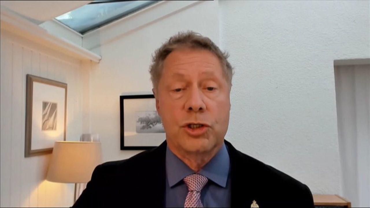 El director general de la Alianza Mundial por la Vacunación (GAVI, por su sigla en inglés), Seth Berkley