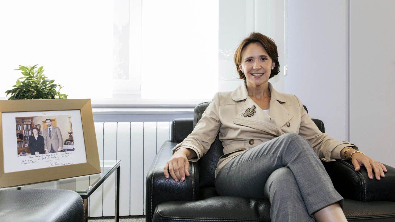 La Fundación Princesa suma apoyos.Teresa Sanjurjo