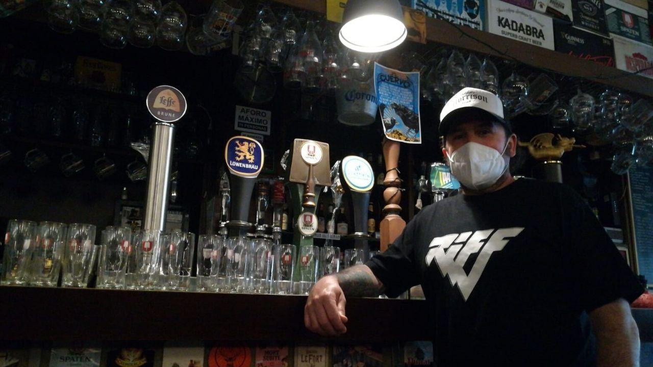 Fernando Neira, propietario del pub Morrison