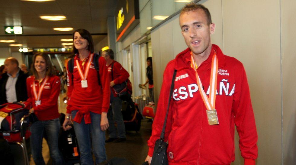 El salto de Yago Lamela que se convirtió en historia del deporte.Sergio Sánchez, medallista en el Mundial de pista cubierta del 2010