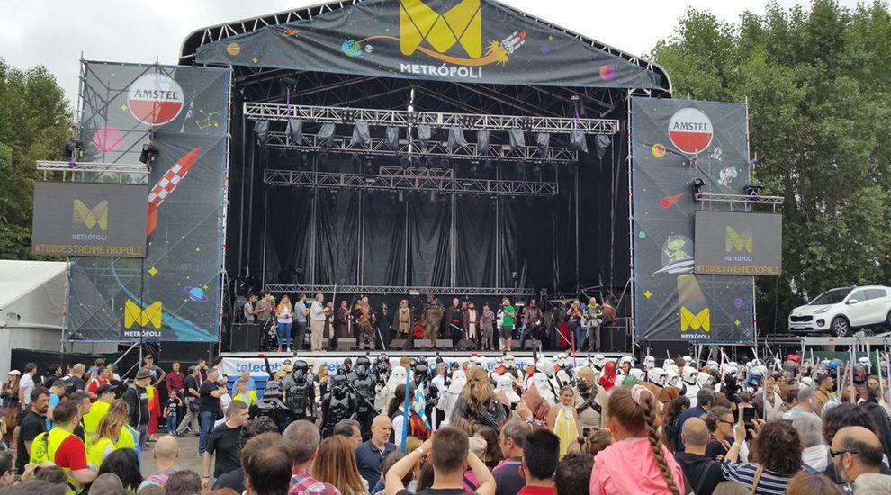Desfile Metrópoli Gijón.Festival de Habaneras