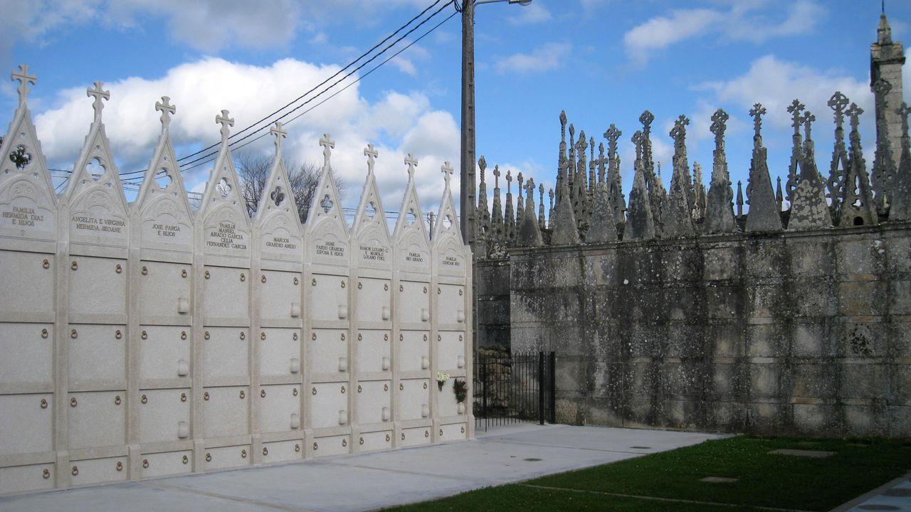 La montaña de Lugo se tiñe de blanco.Malasombra ofrece un concierto en el Club Clavicembalo