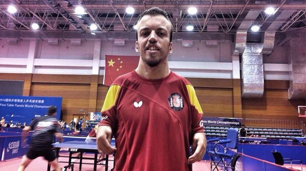 Alberto Seoane. Tenis de mesa. Es el número nueve del ránking mundial y tiene opciones de hacer un gran torneo en la ciudad brasileña.