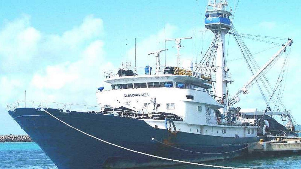 El Albacora Seis, en una imagen de archivo del Ministerio de Agricultura, Pesca y Alimentación
