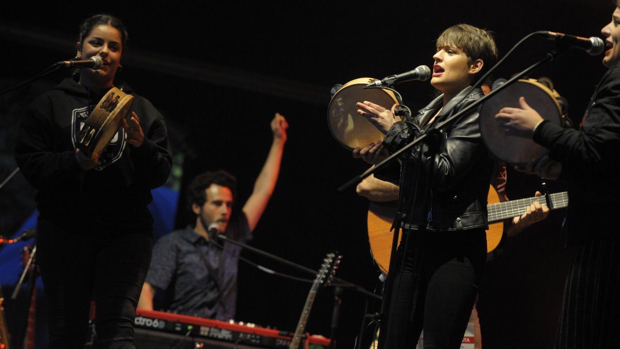 A banda Tanxugueiras é unha das participantes no festival benéfico deste sábado
