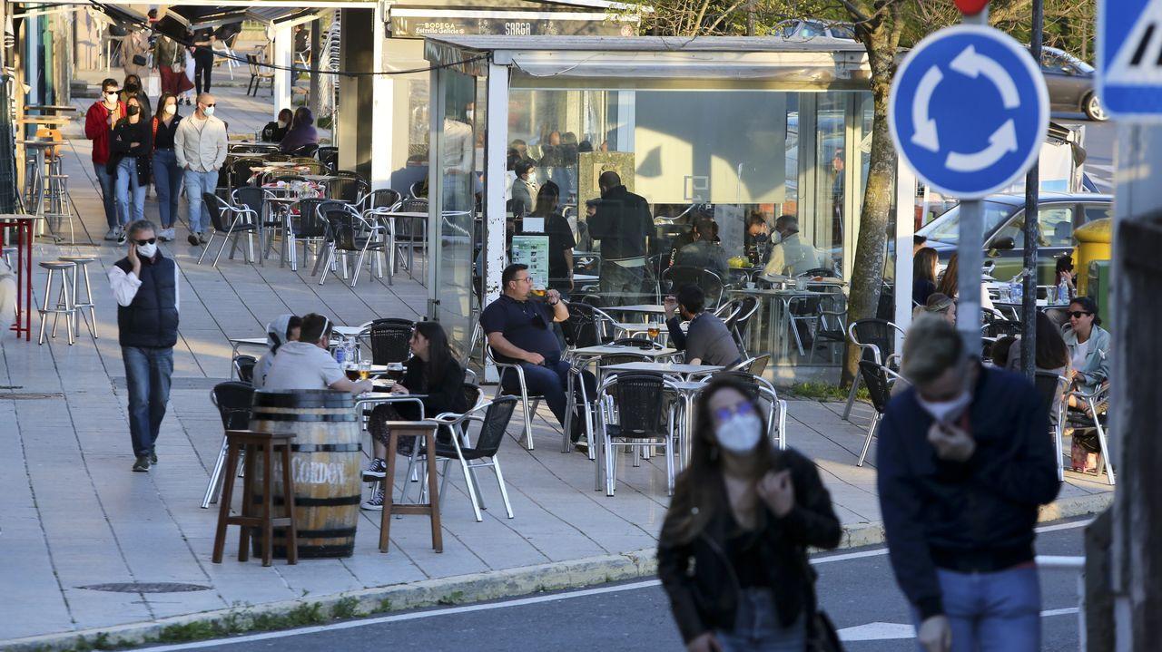 Desde el sábado, los bares pueden abrir hasta las once de la noche, y los restaurantes, hasta la una