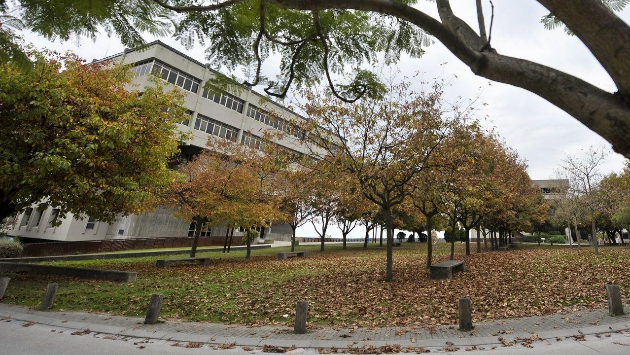 dom.Imagen de archivo de la facultad de Arquitectura de la UDC