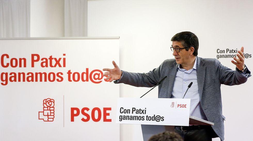 Patxi López: «No hay mayor tristeza que vencer sobre un partido destrozado»