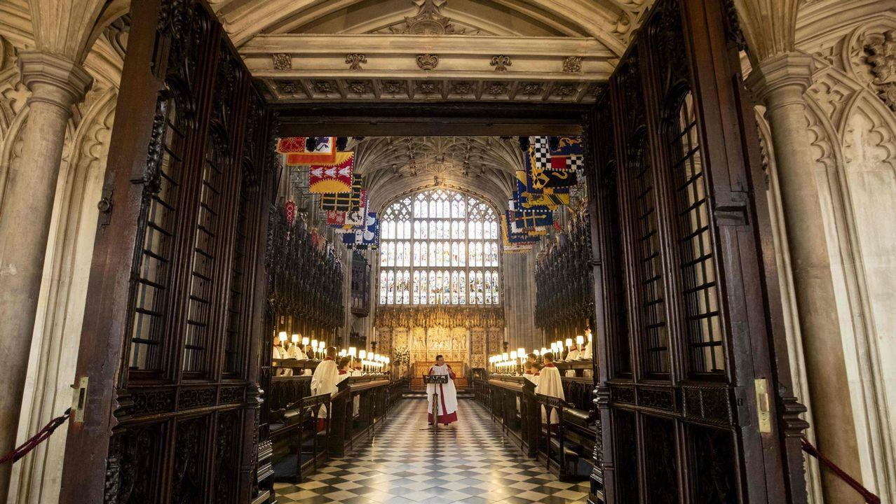 Las imágenes de la bodadel príncipe Enrique y Meghan Markle