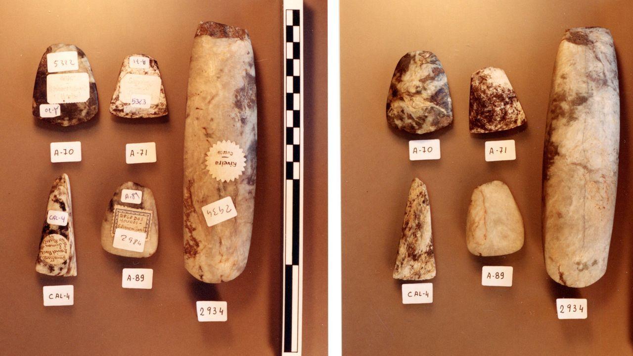 As pezas atopadas usábanse en ofrendas hai milleiros de anos