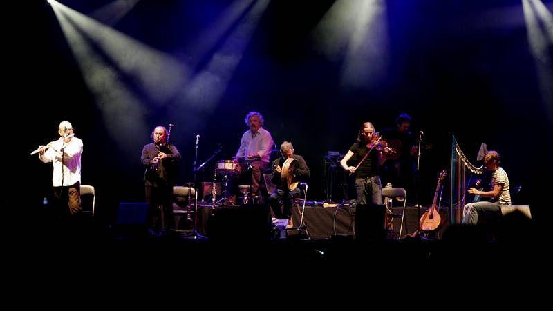 La banda gallega, en el 2007