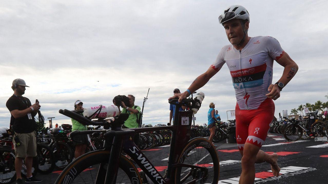 Gómez Noya. Uno de los mejores triatletas de la historia vuelve a la competición tras un año enfocado al ironman.