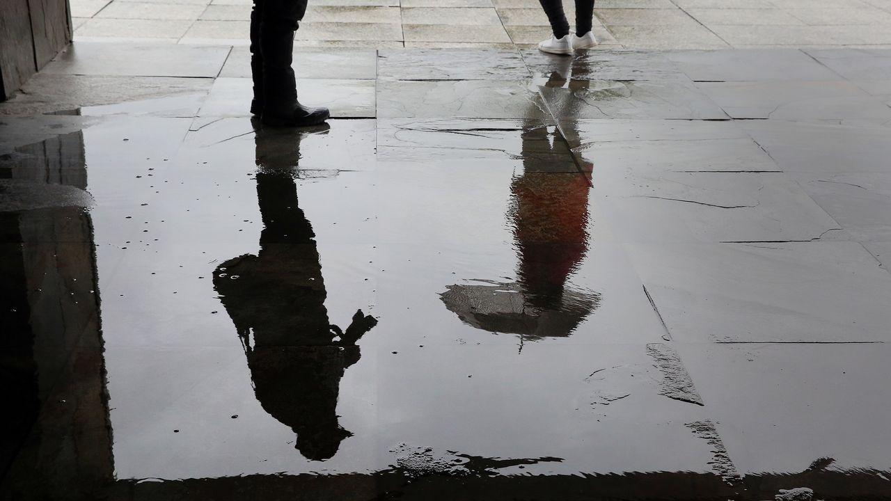 LLuvias en Vilagarcía