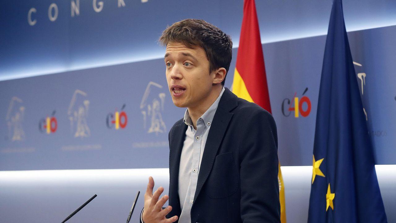 Errejón deja su escaño en el Congreso de los Diputados.La portavoz del PSOE en el Congreso, Adriana Lastra