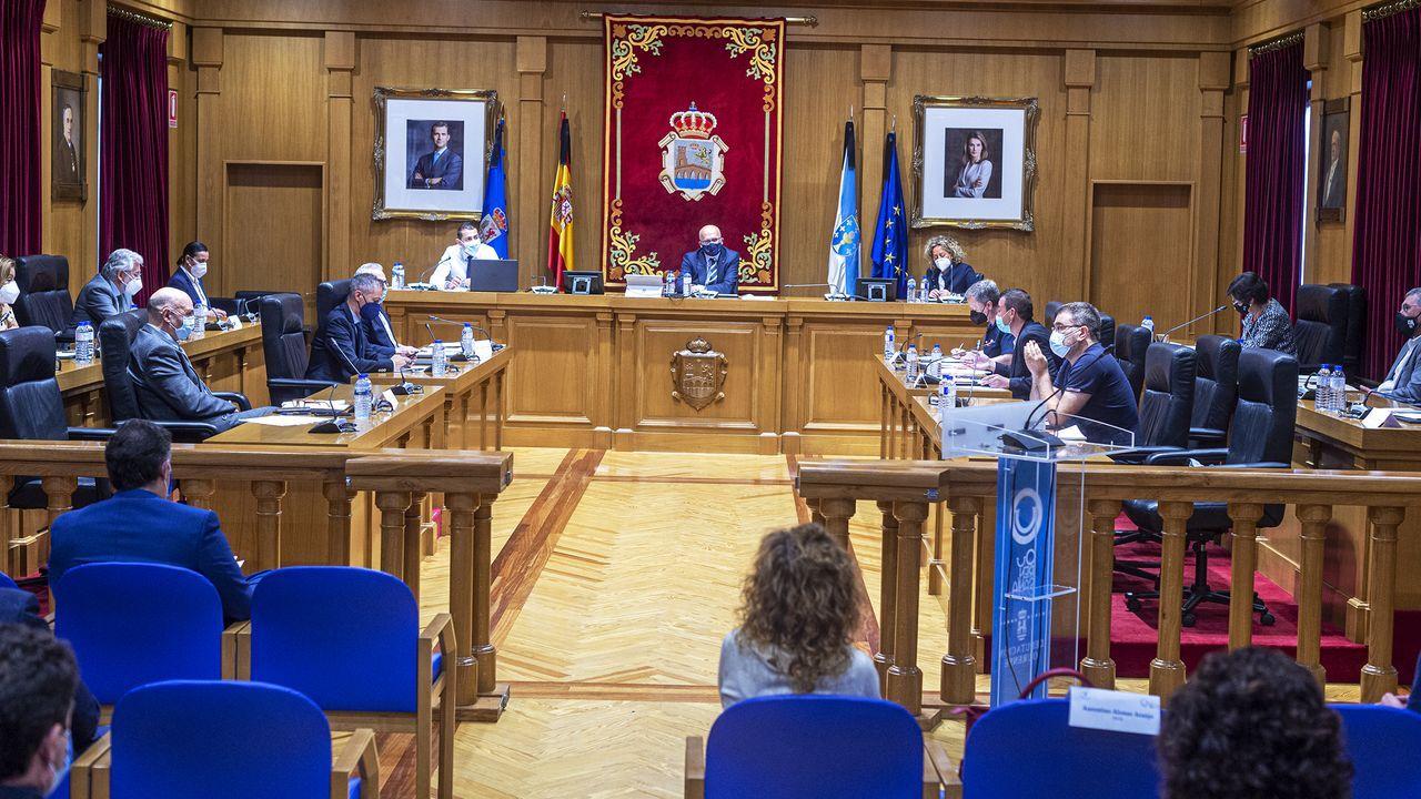 Pleno ordinario del mes de junio en la Diputación de Ourense