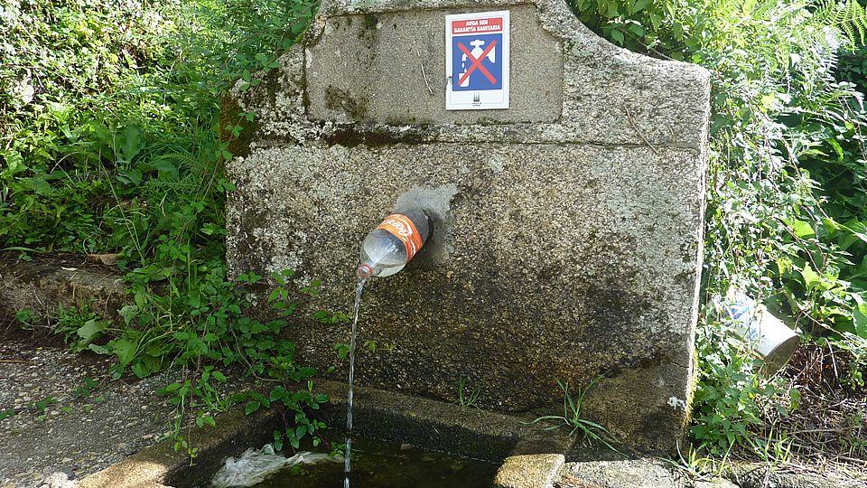 Ponte-palets en Begonte.En Boimente, Santa Comba, se encuentra este curioso ejemplar de marquesina, sin duda la especie más polimorfa del rural gallego