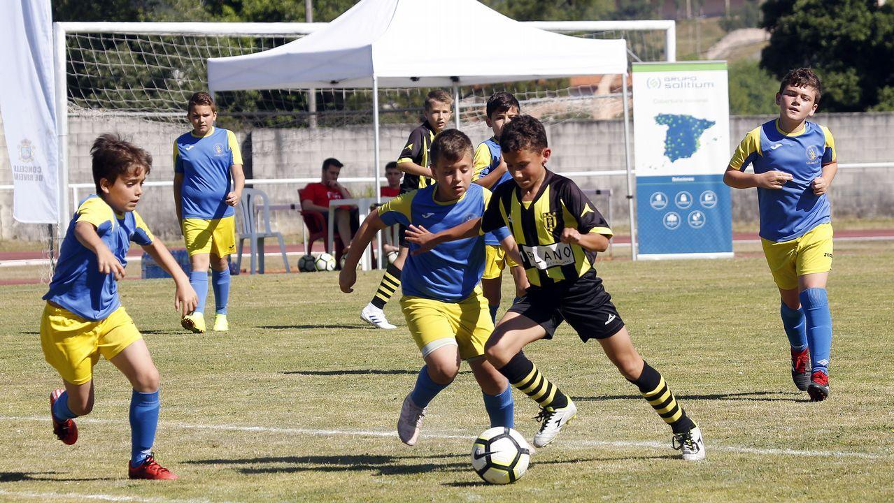 Copa Salvora, torneo de fútbol en la Fieiteira