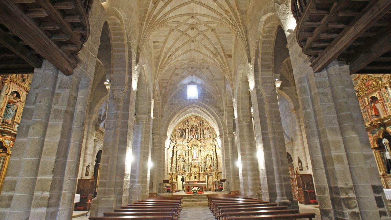 Accidente en la Ou-504.Monasterio de San Clodio